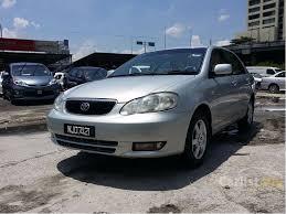 toyota corolla 2001 sedan toyota corolla 2001 seg 1 6 in kuala lumpur manual sedan silver