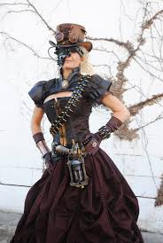 Halloween Costume Party Ideas by Stunning Ladies U0027 Steampunk Costumes Gowns Corsets Unique