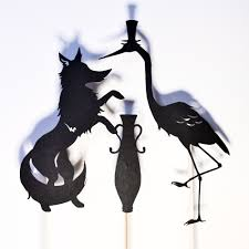 shadow puppets for sale the fox and the crane 4 shadow puppets