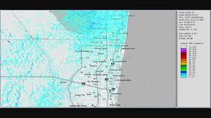 Tamarac Florida Map by Thunderstorm Outflow Boundaries Tamarac Florida 2011 08 02