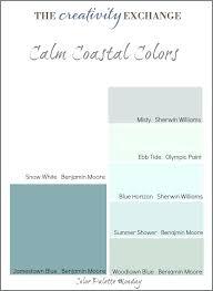 beach house interior color palette