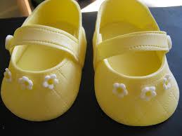 annie u0027s appetite making gumpaste baby shoes