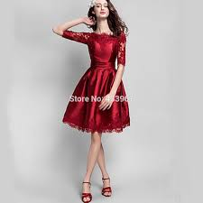 homecoming dresses knee length with sleeves boutique prom dresses