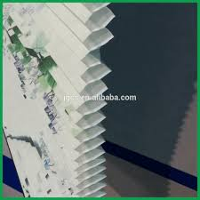 nonwoven cloth day night roller blind material printed color