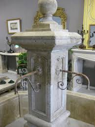 french louis xiv style fountain handcrafted in limestone provence