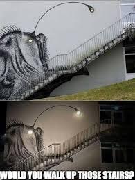 Walk The Dinosaur Meme - would you walk down these stairs meme by kobe9115 memedroid