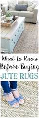 Pottery Barn Natural Fiber Rugs by What To Know Before Buying Jute Rugs Bless U0027er House