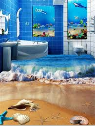 online get cheap surfing wall murals aliexpress com alibaba group custom photo 3d wallpaper hd flooring mural self adhesion pvc wall sticker surf beach shell 3d photo hd painting wall room mural
