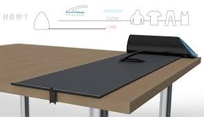 Ultimate In Ironing Yanko Design - Ironing table designs
