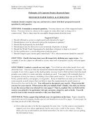 sample college essay format doc 12751650 research paper example for college college term doc