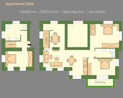 Livia Condo Floor Plan by Apartment Livia Casaneve Bad Gastein