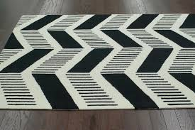 Black Chevron Area Rug Chevron Area Rug For Room Doherty House Contemporary