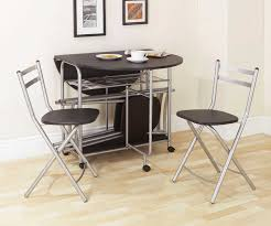 Black Folding Dining Table Black Folding Dining Table And Chairs Set Http Lachpage