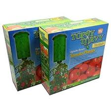 Upside Down Tomato Planter by 740275000687 Topsy Turvy Upside Down Tomato Planter As Seen On