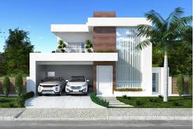 modern two house plans luxurious and modern two storey house plan with clean facade