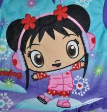 image girls nick jr ni hao kai lan 2 pc purple flannel winter
