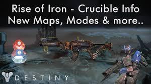 Destiny Maps Destiny Rise Of Iron Crucible News New Mode Supremacy Iron