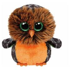 ty midnight the owl halloween beanie boos stuffed plush animal toy