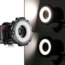 neewer macro ring led light neewer r 160 160 pcs 5600k 10w mini led macro ring light for canon