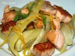 cuisiner fenouil braisé poissons crustaces pique assiette