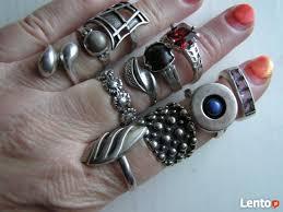 apart pierscionki pierscionki i nowe warmet i apart z rubinem srebro
