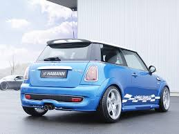mini cooper modified 2007 hamann mini r56 rear angle 1024x768 wallpaper