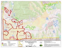 Idaho On Map Map Of Southwest Idaho Rangeland Fire Protection Associations