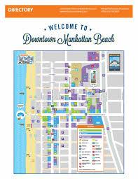 Downtown Manhattan Map Downtown Manhattan Beach Small Town Charm With Million Dollar Views