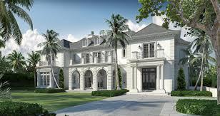French Chateau Floor Plans by Palm Beach Fl