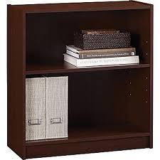 Sauder 3 Shelf Bookcase Cherry Hayden 2 Shelf Laminate Bookcase Hilton Cherry Staples