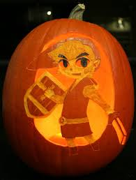 Zelda Pumpkin Stencil by A Link To The Past