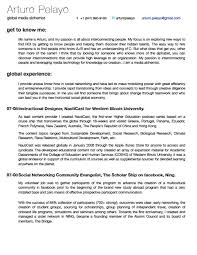 My Resume Is Two Pages Resume Cv And Business Skills By Arturo Pelayo At Coroflot Com