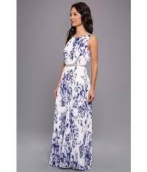 eliza j dresses eliza j embellished print chiffon maxi dress color dress