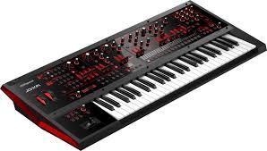 roland jd xa analog digital crossover synthesizer