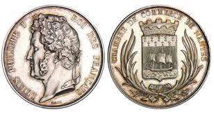 chambre de commerce nantes offres et enchères terminées jeton louis philippe ier 1830 1848
