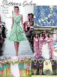 patterned bridesmaid dress tulle u0026 chantilly wedding blog