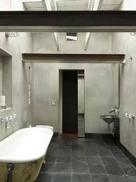 industrial bathroom design rustic bath industrial bathroom design open showers and slate