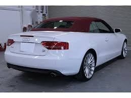 2010 audi a5 cabriolet used audi a5 2010 for sale stock tradecarview 21116188