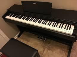 Proline Keyboard Bench Yamaha Arius Ydp 143 88 Key Digital Console Piano With Bench