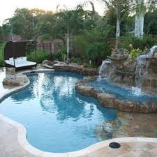 Extreme Backyard Design by Pool Features Orlando Pools Features For Swimming Pool Orlando