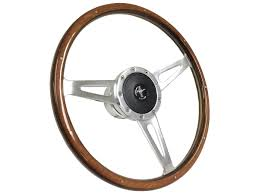 jeep steering wheel emblem mustang 1964 1965 1966 wood sebring shelby steering