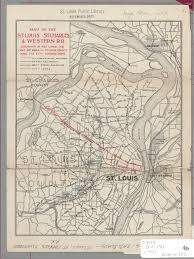 Map St Louis St Louis Public Library Maps Of Missouri