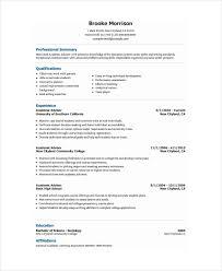 Free Creative Resume Templates Word Academic Resume 8472 Plgsa Org