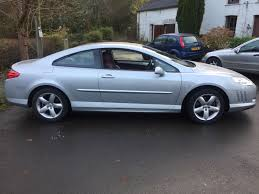peugeot 407 coupe 2007 used peugeot 407 coupe for sale rac cars