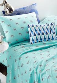 Martha Stewart Duvet Covers Martha Stewart Whim Zebra Sheet Set Everything Turquoise
