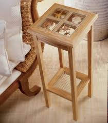 dashing and adaptable display stand woodworking plan from wood