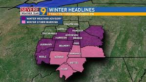 weather map ohio news9 meteorologist jeff oechlein s weather forecast wtov