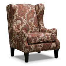 Patterned Accent Chair Bedroom Mesmerizing Accent Chairs With Arms Design Ideas