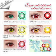 cheap cosplay crazy colored contact lenses colored contact