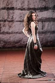 katniss everdeen 75th tribute parade dress back by verdaera